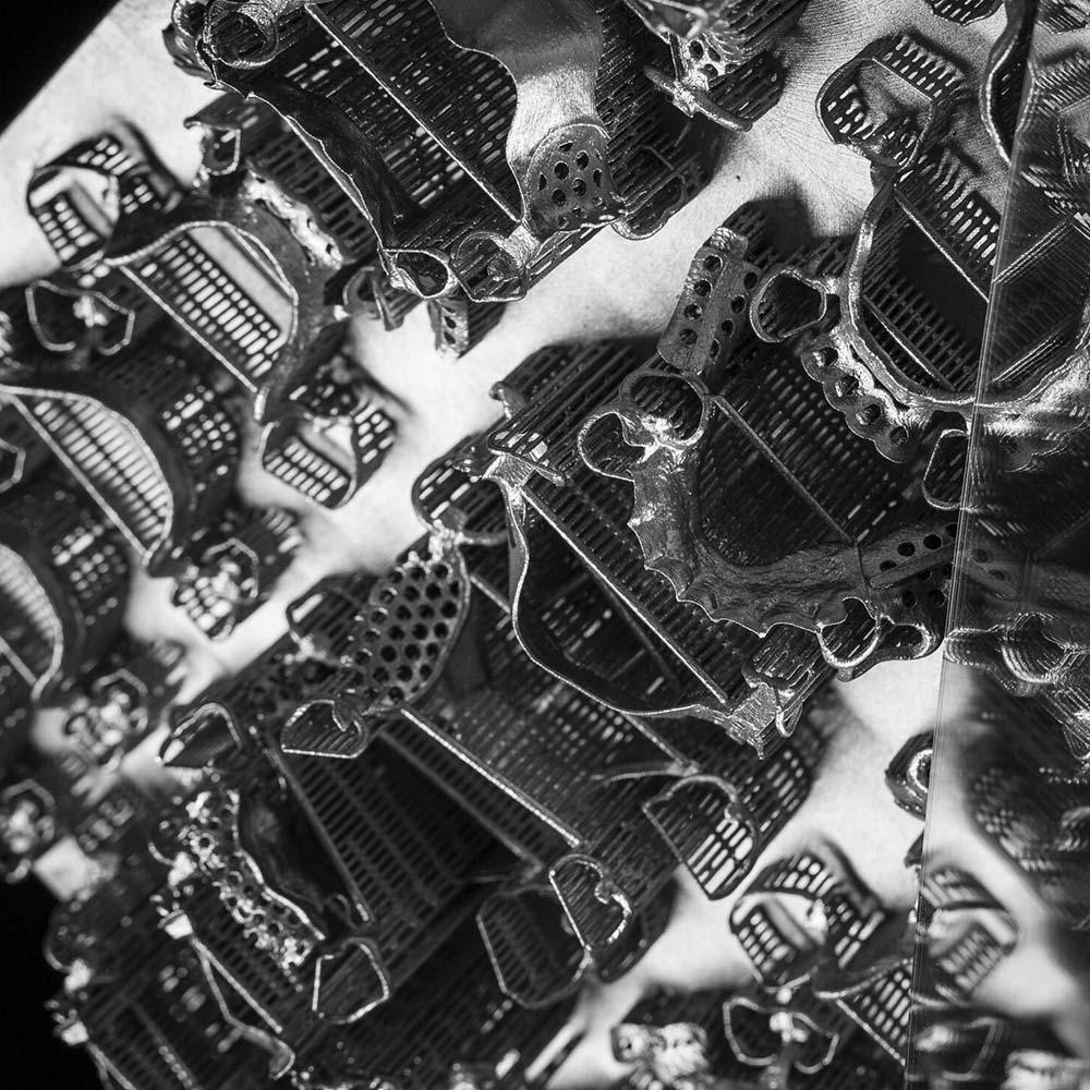 Изделие из сплава Кобальт-Хром EOS CobaltChromeRPD